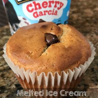 Melted Ice Cream Muffins
