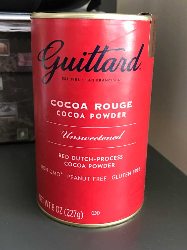 red cocoa powder