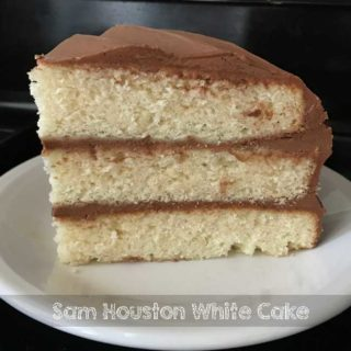 Sam Houston White Cake