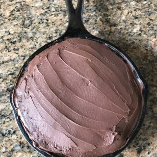 six inch cast iron skillet chocolate cake