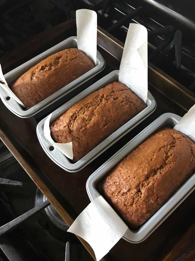 small loaf pan banana bread