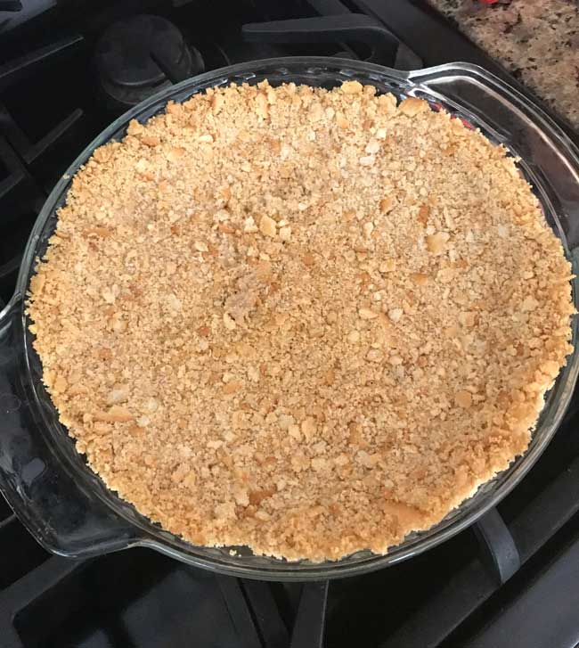 ritz cracker crust