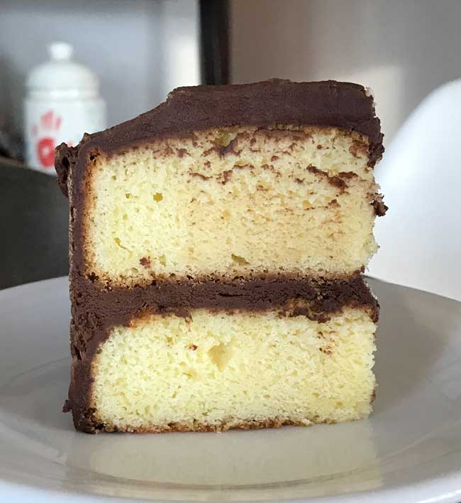 Six Inch Yellow Cake