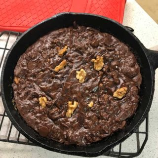 Cast Iron Skillet Brownies
