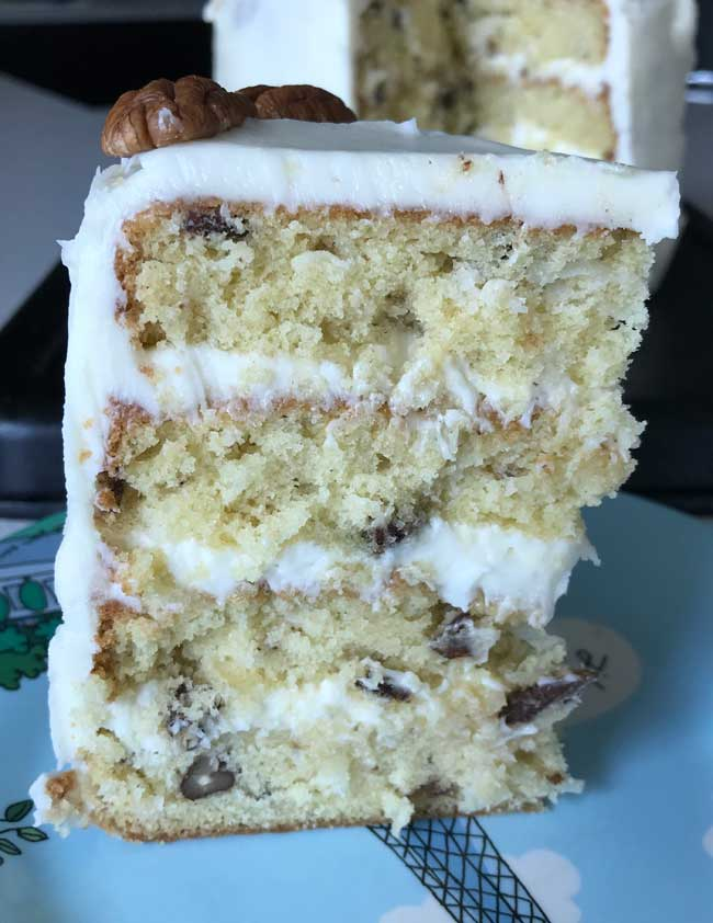 Six Inch Italian Cream Cake