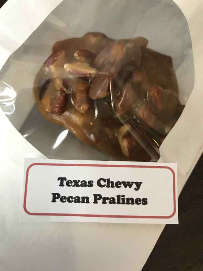 chewy pralines