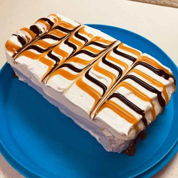 loaf pan ice cream sandwich cake