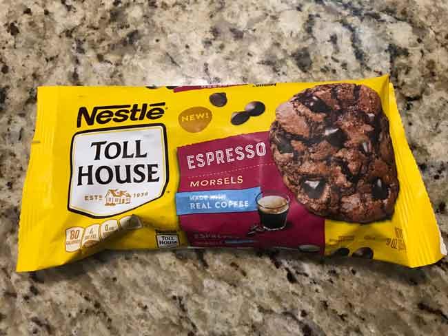 triple chocolate espresso morsels