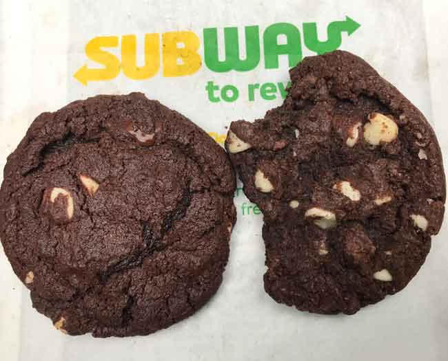 Subway Copycat Cookies
