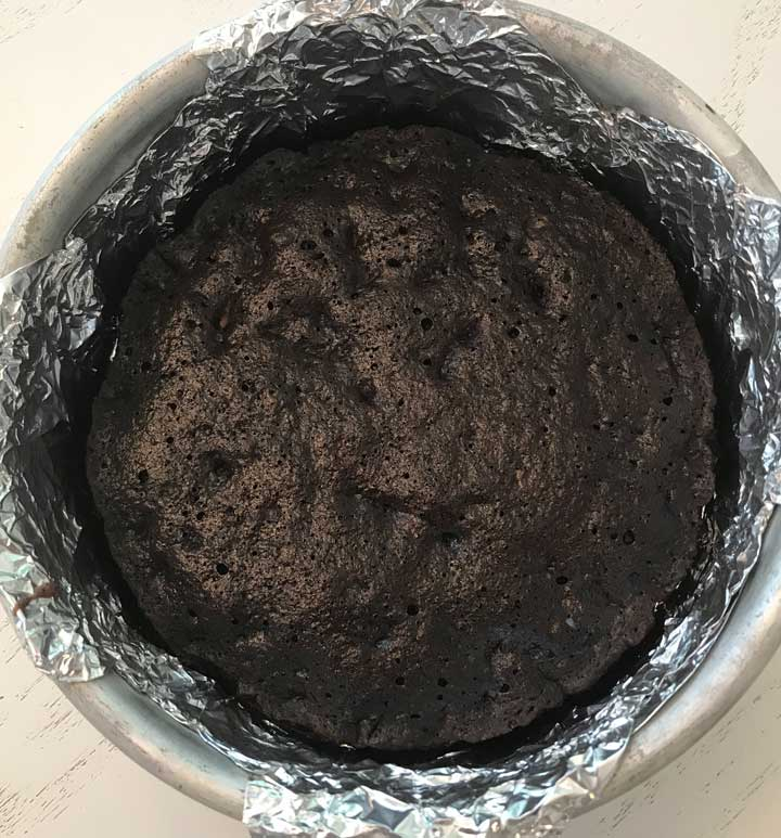 Six Inch Brownie Crust