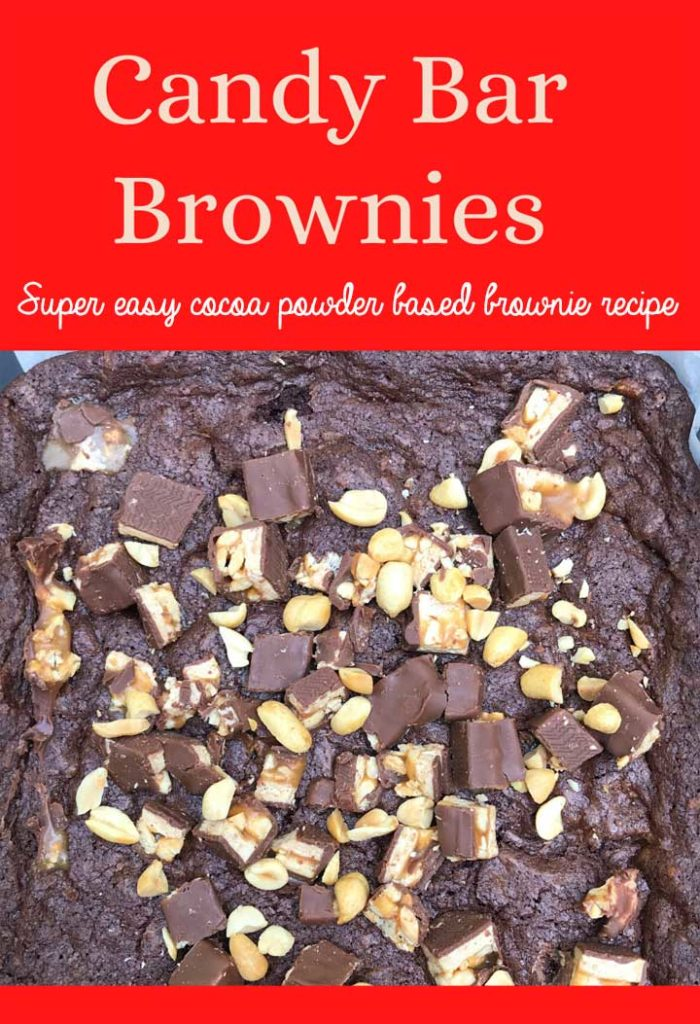 Dave Lieberman's Candy Bar Brownies