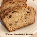 Walnut Sandwich Bread