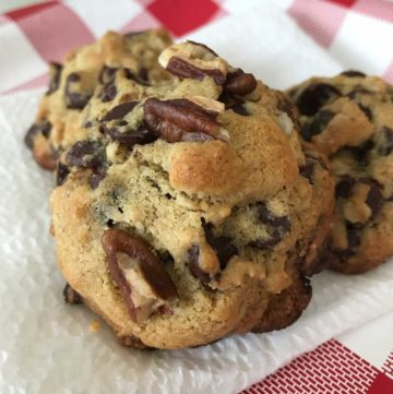 protein flour chocolate chip cookies