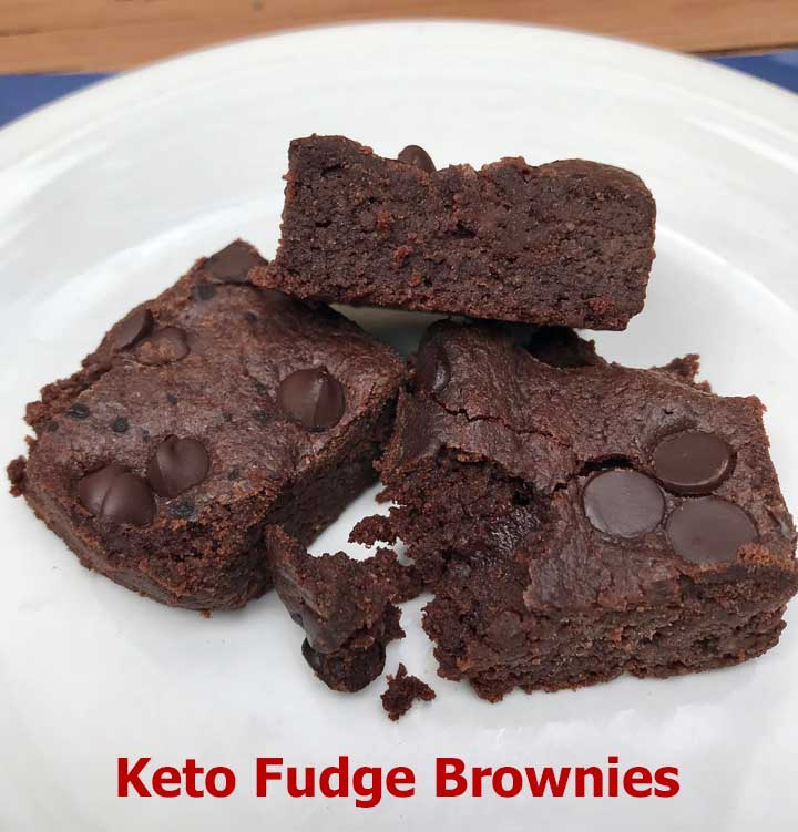 Keto Fudge Brownies