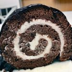 Hot Cocoa Cake Roll