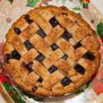 Frozen Cherry Berry Pie