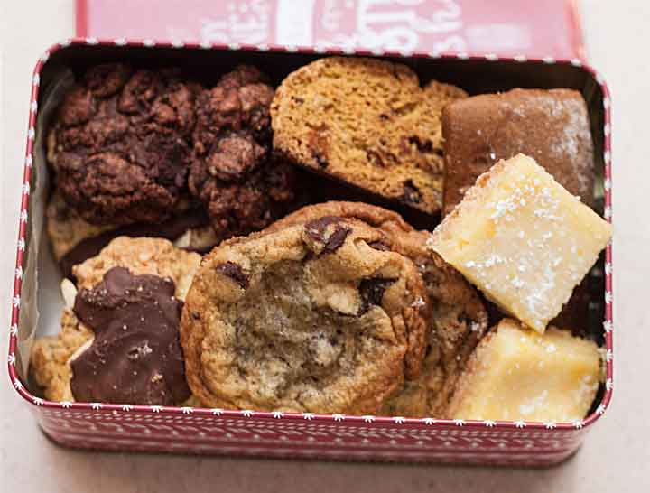 Holiday Cookie Tin