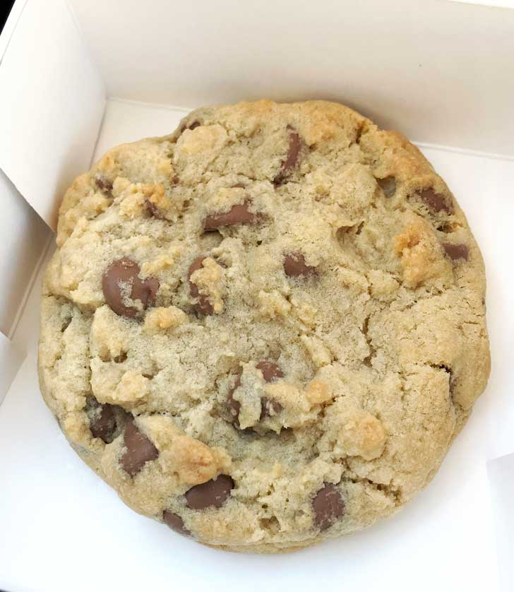 Giant Milk Chocolate Chip Cookies from Crumbl.