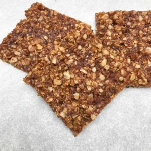 Chewy Oatmeal Squares
