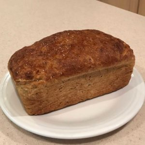 Cottage Cheese Caraway Bread