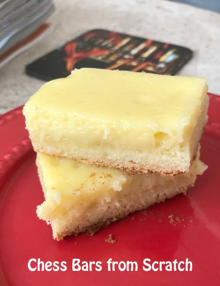 Chess Bars with Self Rising Flour