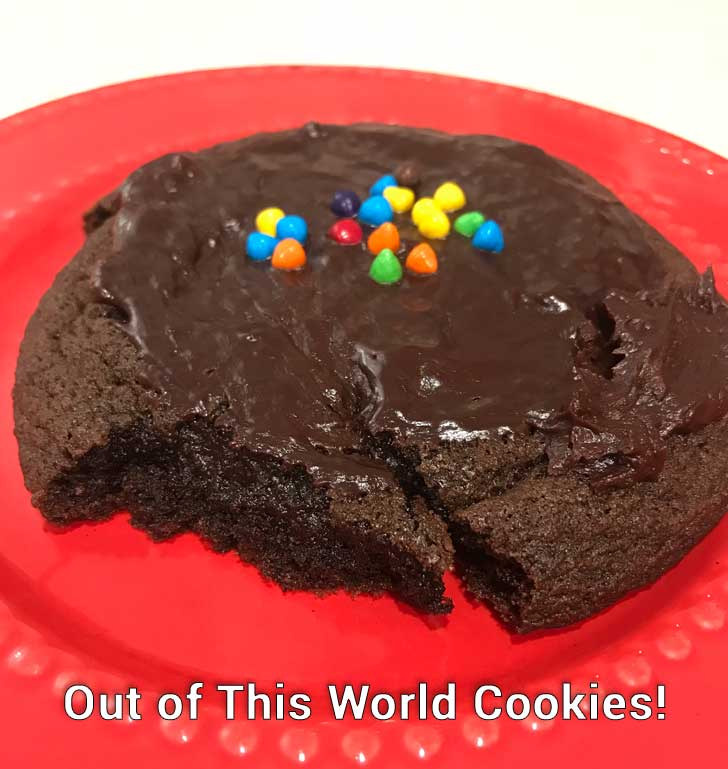 Out of This World Cookies or Galaxy Brownies?
